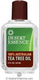 Desert Essence 100% Australian Tea Tree Oil 2 OZ