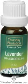 Thursday Plantation 100% Essential Oil Lavender 0.33 OZ