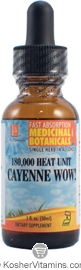 L.A. Naturals Kosher Cayenne Wow! 180,000 Heat Unit 1 OZ