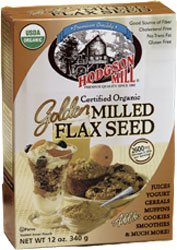 Hodgson Mill Kosher Organic Golden Milled Flax Seed Meal 12 Oz.