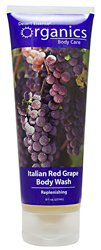 Desert Essence Body Wash Italian Red Grape 8 OZ