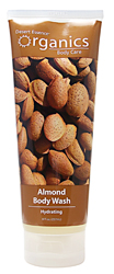 Desert Essence Body Wash Almond 8 OZ