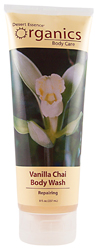 Desert Essence Body Wash Vanilla Chai 8 OZ