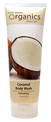 Desert Essence Body Wash Coconut 8 OZ