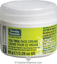 Thursday Plantation Tea Tree Face Cream 2.29 OZ