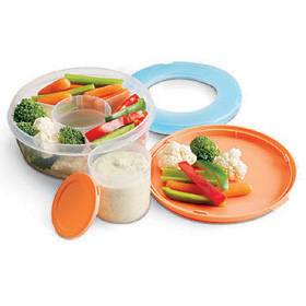 Fit & Fresh Fruit & Veggie Bowl 1 Each