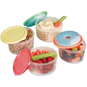 Fit & Fresh Smart Portion 1 Cup Chill Container 1 Each
