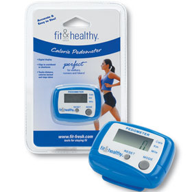 Fit & Fresh Fit & Healthy Pedometer 1 Each