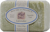 South of France French Milled Bar Soap Lavender 8 OZ