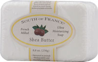 South of France French Milled Bar Soap Shea Butter 8 OZ