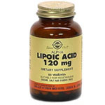 Solgar Kosher Alpha Lipoic Acid 120 Mg.  60 Vegetable Capsules