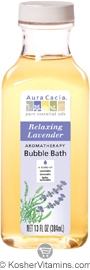 Aura Cacia Aromatherapy Bubble Bath Relaxing Lavender 13 OZ