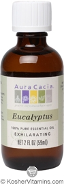 Aura Cacia Essential Oil Eucalyptus 2 OZ