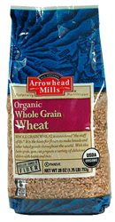 Arrowhead Mills Kosher Whole Grain Wheat Organic Case of 12 28 oz