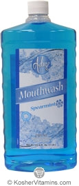 Adwe Kosher Mouthwash Spearmint 33.8 OZ.