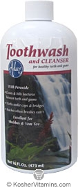 Adwe Kosher Toothwash and Gum Cleanser 16 Oz.