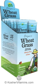 Amazing Grass Kosher Organic Wheat Grass Powder 15 Packets
