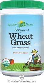 Amazing Grass Kosher  Organic Wheat Grass Powder 17  oz