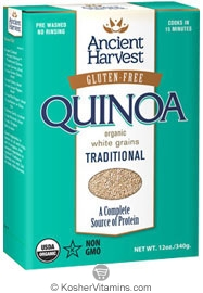 Ancient Harvest  Kosher Organic Quinoa Traditional Gluten Free 12 OZ