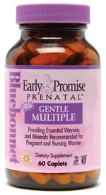 Bluebonnet Kosher Early Promise Prenatal Gentle Multiple 120 Caplets