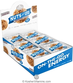 Betty Lou's Kosher Protein Plus Energy Balls Nuts about Almond Butter Dairy 12 Count
