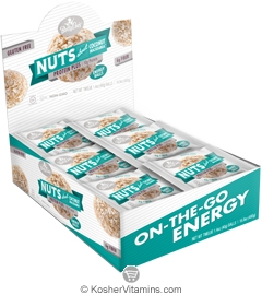 Betty Lou's Kosher Protein Plus Energy Balls Nuts about Coconut Macadamia Dairy 12 Count