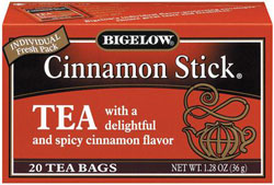 Bigelow Kosher Cinnamon Stick Tea 20 Tea Bags