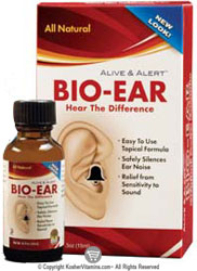 Natures Answer Kosher Alive and Alert Bio-Ear Hear The Difference 0.5 oz