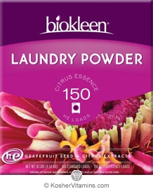 Biokleen Laundry Powder Grapefruit Seed & Orange Peel Extract   5 LB