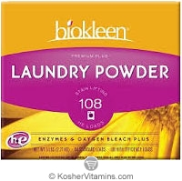 Biokleen  Laundry Powder Stain Lifting Enzymes & Oxygen Bleach Premium Plus 5 LB