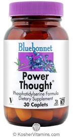 Bluebonnet Kosher Power Thought 30 Caplets