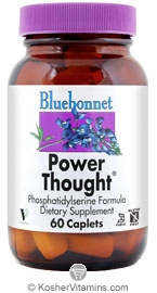 Bluebonnet Kosher Power Thought 60 Caplets