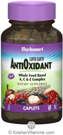 Bluebonnet Kosher Super Earth AntiOxidant Complex 30 Caplets