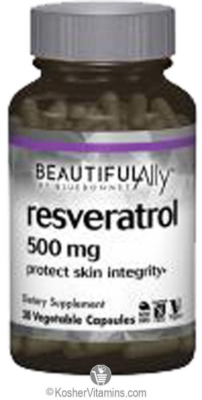 Bluebonnet Age Less Trans Resveratrol 500 Mg Vegan Suitable Not
