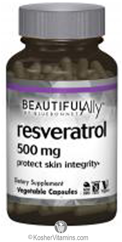 Bluebonnet Beautiful Ally Resveratrol Vegan Suitable Not Certified