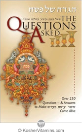 Book The Questions Asked Haggadah Over 250 Question & Answers to Make Sipur Yetzias Mitzrayim Come Alive  1 Book