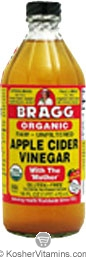 Bragg Kosher Organic Raw Apple Cider Vinegar 32 OZ