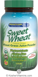 Brightcore Nutrition Kosher Sweet Wheat 1.06 OZ