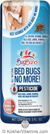 BugBand Kosher Bed Bugs No More! Pesticide Travel Size 12 Pack 3 OZ
