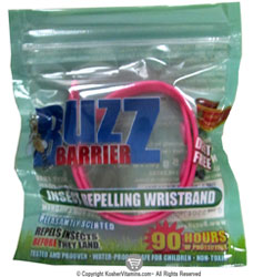 Buzz Barrier Insect Repelling Wristband 1 Count