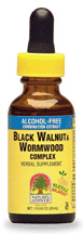 Natures Answer Kosher Black Walnut & Wormwood Alcohol Free 1 Oz.