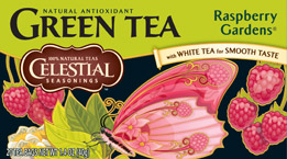Celestial Seasonings Kosher Raspberry Gardens� Green Tea 20 Bags