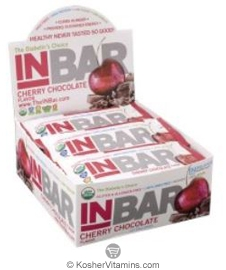 In Balance Kosher InBar For Weight & Glucose Management Protein Bar Cherry Chocolate 12 Bars
