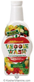 Citrus Magic Kosher Veggie Wash All Natural Fruit and Vegetable Wash 32 OZ