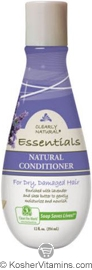 Clearly Natural Natural Conditioner for Dry, Damaged Hair Lavender & Shea Butter 12 OZ