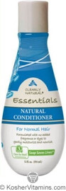 Clearly Natural Natural Conditioner for Normal Hair Unscented 12 OZ