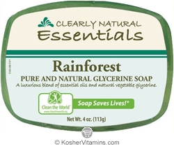 Clearly Natural Glycerine Bar Soap Rainforest 4 OZ
