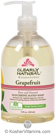 Clearly Natural Glycerine Hand Soap Grapefruit 12 OZ