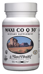 Maxi Health Kosher Maxi Co Q 30 Mg (Coenzyme Q10) 90 Vegicaps