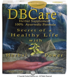 HealingPower Kosher DBCare Helps Maintain Healthy Glucose Levels  90 Vegetarian Capsules